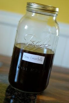 Homemade chai tea concentrate for making inexpensive chai lattes at home.