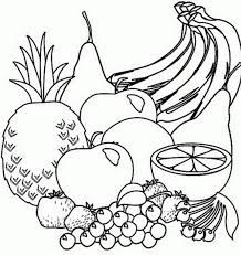 Free, printable coloring book pages, connect the dot pages and color by numbers pages for kids. Fruit Coloring Pages, Coloring Book Pages, Coloring Sheets, Adult Coloring, Deco Fruit, Fruit Clipart, Christian Artwork, Clipart Black And White, Black White