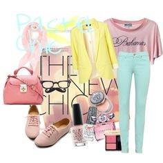 """Pastel Chic"" by soo-kimberley-noh on Polyvore"