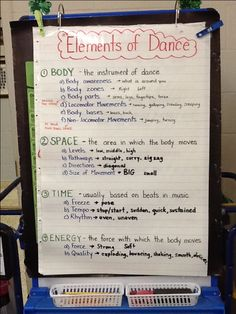 Grade 2 Elements of Dance