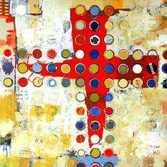 Jylian Gustlin-'Fibonacci 177'-Red Sky Gallery