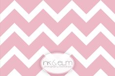 "Photography Backdrop  ""Large Pink Chevron Stripes"""
