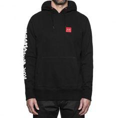 HUF X CHOCOLATE Sweat capuche Chunk Worldwide Hood black 85,00 € #skate…