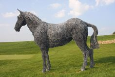 chicken wire sculpture how to | that success enabled rupert to move studios to hovingham and