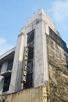 Capitol Theater in Manila, Philippines by Juan Nakpil (1935)    Art Deco - Wikipedia