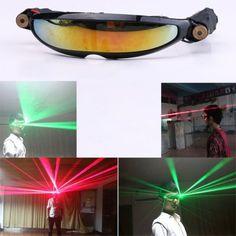 Lunettes Laser Pour Party Supplies Laser Rouge 100mW et Vert 50mW DJ Club