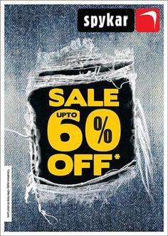Spykar End of Season Sale - Upto 60% off   Deals, Sales, Offers, Discounts in Mumbai   mallsmarket.com
