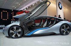 BMW i8 @ Detroit NAIAS 2012