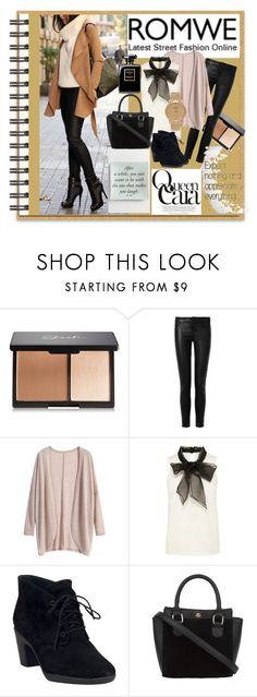 """""""Romwe-Contest"""" by bamra ❤ liked on Polyvore featuring J Brand, Clarks, Shore Projects, women's clothing, women, female, woman, misses and juniors"""