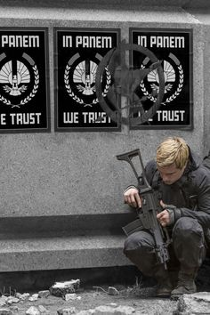 Josh Hutcherson as Peeta Mellark in The Hunger Games: Mockingjay Part 2