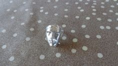 Items similar to Ancient face carved 925 ring. on Etsy Decoupage Paper, Cute Bows, Acrylic Colors, Silver Rings, Carving, Unique Jewelry, Glass, Handmade Gifts, Face