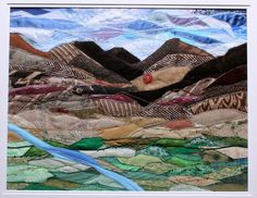 Textile Landscape - Josie Russell