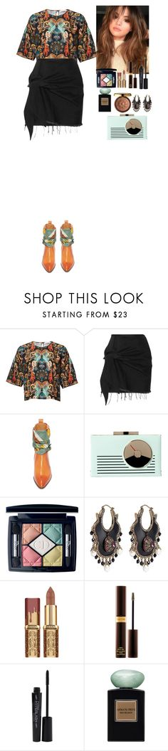 """""""Outfit"""" by eliza-redkina on Polyvore featuring мода, Marques'Almeida, Maison Margiela, Kate Spade, Christian Dior, Alexander McQueen, Physicians Formula, Tom Ford, Smashbox и StreetStyle"""