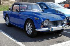 1961-1965 Triumph TR4 #triumph #tr4 #cars #motor #Automotive #biler