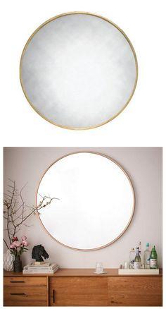 Trendspotting: Thin Frame Round Mirrors | Centsational Style