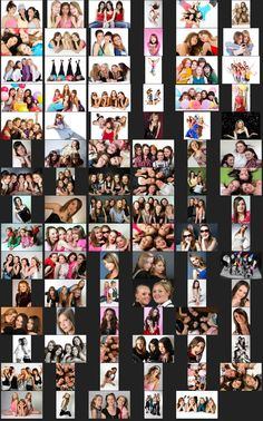 I think it would be fun to set up a picture taking booth. Poses for Teen Party in the Studio - Teen Party Posing