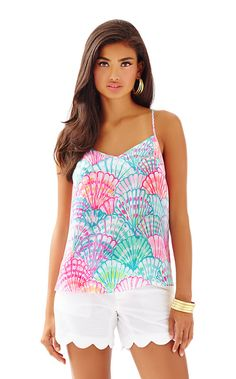 Dusk Racer Back Tank Top - Lilly Pulitzer