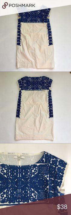 Madewell Embroidered Dress 100% Cotton Madewell Dresses Mini
