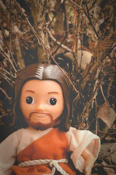 Jesus Sees Us Doll