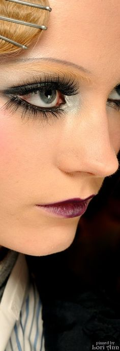 Dior Fall 2009 RTW Backstage - Model: Charlotte di Calypso