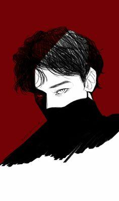 Yall Chen was fine as hecc in the monster era sksjdkskdlsjsldjsl Drawing Simple, Pixiv Fantasia, Exo Fan Art, Satsuriku No Tenshi, Art Vintage, Kpop Fanart, Boy Art, Pretty Art, Aesthetic Art