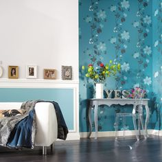 Rubis Wallpaper Collection (source Caselio / Zepel) / Fabric Wallpaper Australia / The Ivory Tower