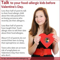 Tips to Safely Celebrate Valentine's Day with Food Allergies