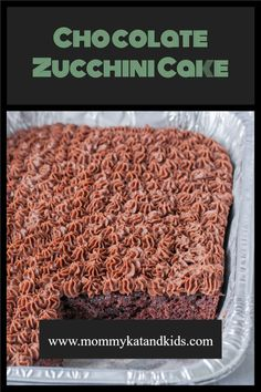 It's a great time to use up those big zucchinis and freeze some of this amazing chocolate zucchini cake for Christmas! Makes one huge cake, or double the recipe for 3 9x13 cakes!