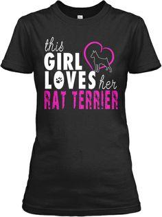 Girl Loves Her Rat Terrier!