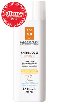 La Roche Posay Anthelios 50 Mineral: Mineral sunscreen with a matte finish, non-whitening for facial use. Best facial sunscreen I've used.