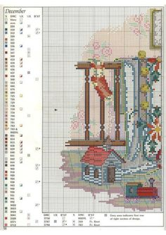 """Paula Vaughan's """"December ~ Quilts For All Seasons"""".  Found on mornela.gallery.ru"""