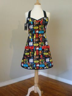 Star Wars Apron Limited Quantity by HauteMessThreads on Etsy,