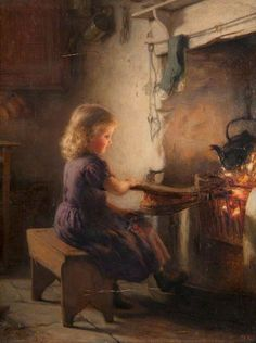 The Light of the Fireside by Hugh Cameron