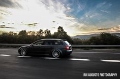 Audi S4 rolling