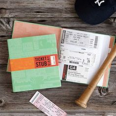 A ticket stub diary to put their concert tickets, movie stubs, and boarding passes in, because your significant other is just as nostalgic as you are. 23 Of The Best Birthday Gifts You Can Get At UncommonGoods Right Now Ticket Stubs, Ticket Stub Diary, Ticket Display, Ziggy Stardust, Gifts For Teens, Gifts For Him, Guy Gifts, Fathers Day Gifts, Valentine Day Gifts