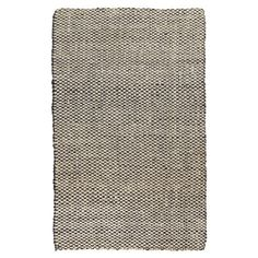 Woven natural fiber rug. Handmade in India.  Product: RugConstruction Material: JuteColor: Winte...