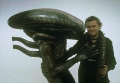 HR Giger is involved in the ALIEN prequel. Can the designer of the original Xenomorph bring new magic to the film? And will that be enough to make it not horrible? Hr Giger, Giger Alien, Giger Art, Alien 1979, Alien Vs Predator, Predator Movie, Tv Movie, Movie Props, Sci Fi Movies