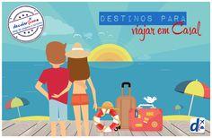 Confira quais são os melhores destinos para os #apaixonados #trip #viagem