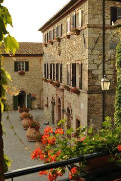 Luxury hotel Borgo San Felice, in Chianti, Italy {www.borgosanfelice.it/index_eng.html}