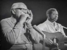 """Sonny Terry and Brownie McGhee play """"Red River Blues"""" and """"Crow Jane,"""" two of the oldest known pieces in the Piedmont blues repertoire. Love these guys!"""