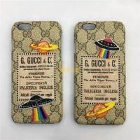 グッチ iphone7/7plusケース ジャケット UFO iphone8ケース 保護カバー iphone6s/6splusカバー 革製 軽量 激安