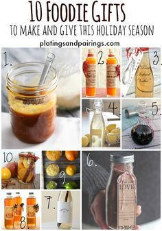 Great Gift Ideas and EASY to Make!!! platingsandpairings.com