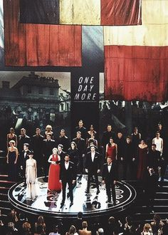 One Day More!!!!!! @Rachel Fisher did you see the Oscars??