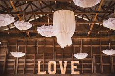 #wedding #barnwedding #reception #lace #parasol #chandelier #marquee #decor #vintage #romantic Silver Sage, Stables, Reception, Chandelier, Wedding Ideas, Ceiling Lights, Vintage, Home Decor, Candelabra