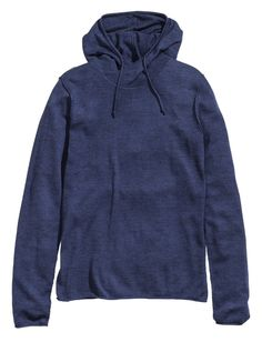 Hooded Sweater - Blue - $24.95 - H&M