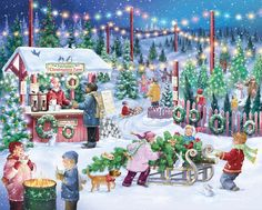 Vermont Christmas Company boasts the largest collection of Advent Calendars in the U. and well as a huge selection of Advent wreaths, Christmas cards, jigsaw puzzles and other traditional holiday favorites. Christmas Jigsaw Puzzles, Christmas Puzzle, Buy Christmas Tree, Christmas Scenes, Christmas Countdown, Little Christmas, Christmas Tree Ornaments, Vintage Christmas, Merry Christmas
