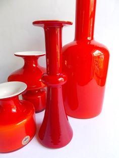 Etsy listing at https://www.etsy.com/listing/193229659/holmegaard-carnaby-vase-red-danish