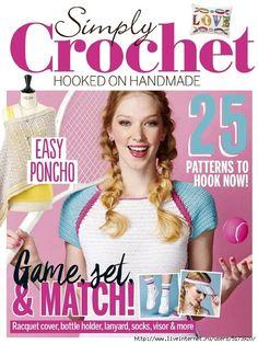 Simply Crochet by Minh Thuỳ - issuu Simply Crochet, Love Crochet, Learn To Crochet, Double Crochet, Knitting Magazine, Crochet Magazine, Popcorn Stitch, Crochet Books, Knitting Books