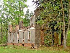 Comingtee Plantation House - Berkeley County, South Carolina SC