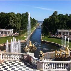 St. Petersburg, Russia. The palace was stunning!